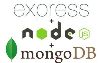 Node.js Express and MongoDB